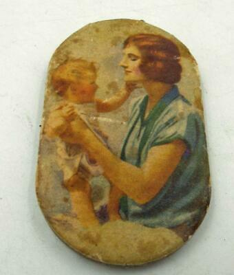 1930S Prudential Insurance Co Mother & A Baby Small Promo Pad