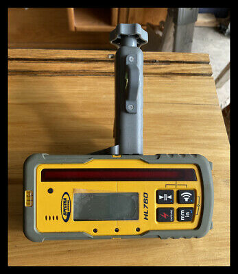 Spectra Precision HL760 Digital Laser Receiver w/Rod Clamp (Fast Shipping)