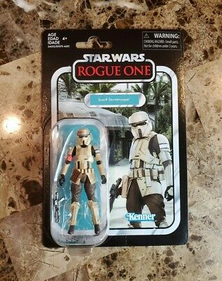 Scarif Stormtrooper VC133 STAR WARS The Vintage Collection Hasbro MOC #3
