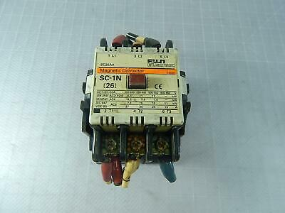 Fuji Electric SC25AA Magnetic Contactor T101807