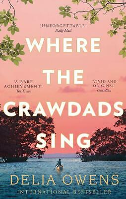 Where the Crawdads Sing by Delia Owens Contemporary Fiction Paperback NEW