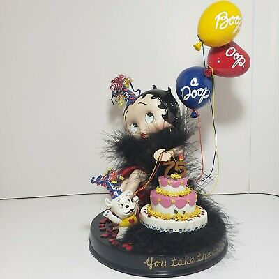 """Betty Boop Limited Edition """"You Take The Cake"""" Danbury Mint"""