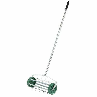 Draper Rolling Lawn Aerator (450mm Spiked Drum) (83983)