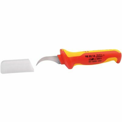 Knipex 180mm Fully Insulated Dismantling Knife (21490)