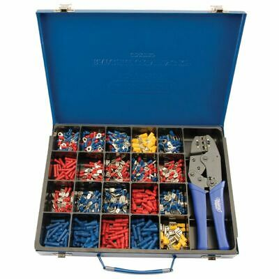 Draper Expert Ratchet Crimping Tool and Terminal Kit (56383)