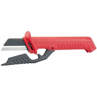 Knipex 185mm Fully Insulated Cable Knife (31885)