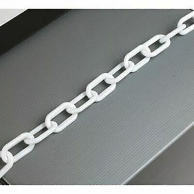 Plastic 8mm White Chain 360077 - SBY17513