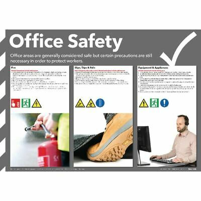 Office Safety Poster 420x594mm FAD126 - SR11125