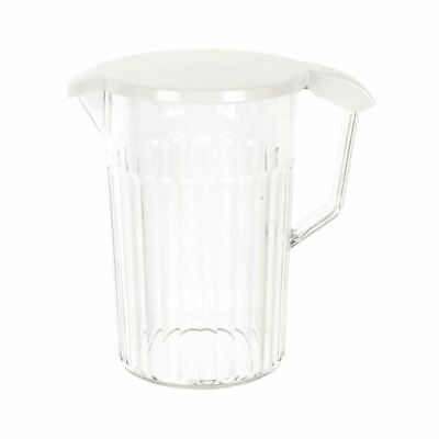 Clear Polycarbonate Jug with Lid 1.4 Ltr - UP20931