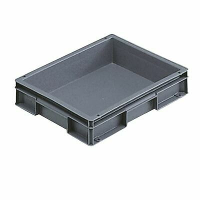 Grey 400x300x74mm Euro Stack Container - SBY04908
