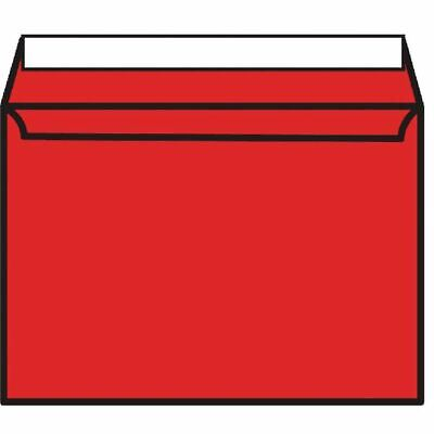 C5 Envelope P Seal Pillar Box Red Pk250 - BLK93020