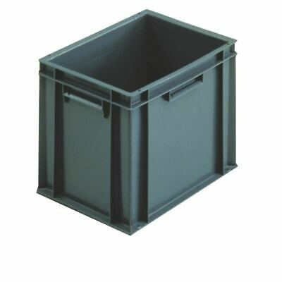 Grey 400x300x319mm Euro Stack Container - SBY04924
