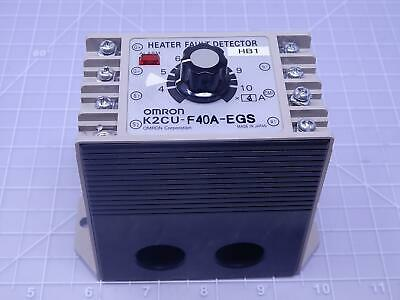 Omron K2CU-F40A-EGS Heater Fault Detector T112769