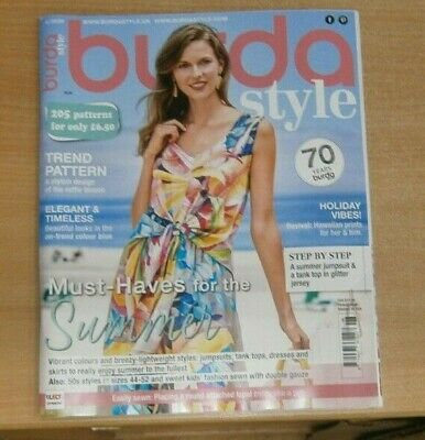 Burda Style magazine 6/2020: 205 Patterns Vibrant colours & lightweight styles