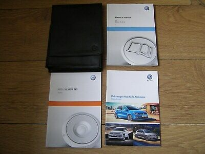 Volkswagen Up Owners Manual Handbook Pack 2011 - 2019. Free Uk Postage