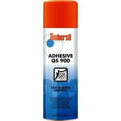 Ambersil Spray Adhesive QS900 500ml Fast Tacking Aerosol Glue Product Code 31626