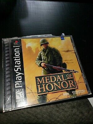 Medal of Honor (Sony PlayStation 1, 1999) Black Label