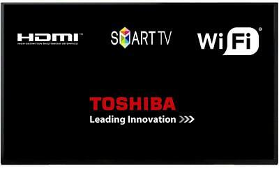 """Toshiba 40L2863DBT 40"""" Smart D-LED TV With Freeview Play Grade C Unit Only"""