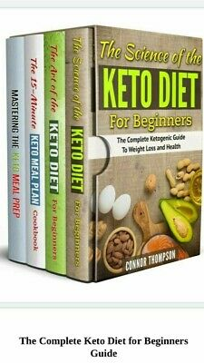 The Complete Keto Diet Plan for Beginners 4 Book Set PDF Fast Delivery