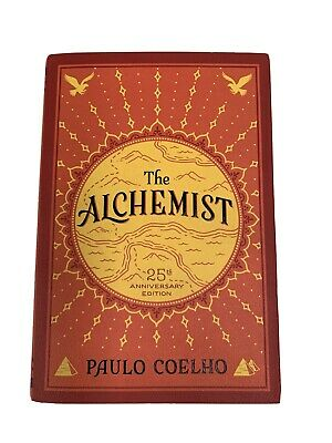The Alchemist by Paul Coelho *25th Anniversary Edition *Paperback Deckle Edge