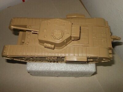 Army Men 2001 Classic Toy Soldiers CTS British Churchill Tank Tan