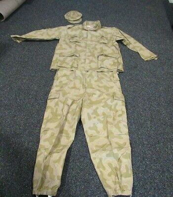 OIF Iraqi camo set NOS size 2XL cap, tunic, and pants matching set in issue bag