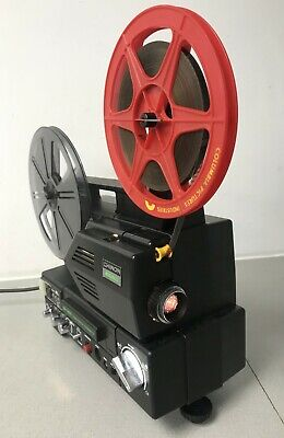 Chinon Sound SP-350 Twin Track Mag SUPER 8 Sound CINE  PROJECTOR fully serviced