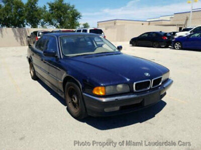 1998 BMW 7 Series 740IA   SWB One Owner Low Miles Clean Carfax Fully Loaded Dealer Serviced Books Records BBS