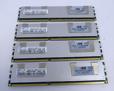 32GB Samsung Server Memory (4x8GB) 2rx4 PC3 - 10600R - 09-10-E1-P0