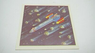 Gerry Anderson FIREBALL XL5 Como Confectionary UK Sweet Cigarette Card # 20 MINT