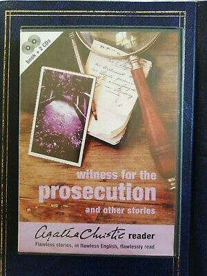 Agatha Christie Witness For The Prosecution Audiobook CD