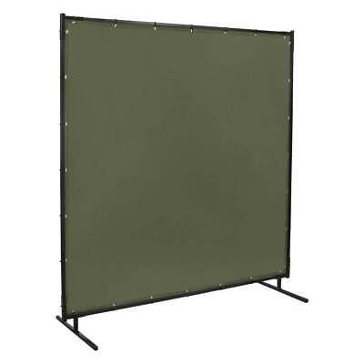 Steiner 501-4X6 Protect-O-Screen Olive Green Canvas Duck FR Welding Screen