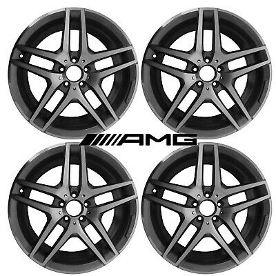 Mercedes Benz S400 S550 S600 2014-2018 OEM 19 inch AMG Mag wheel set 2224010000