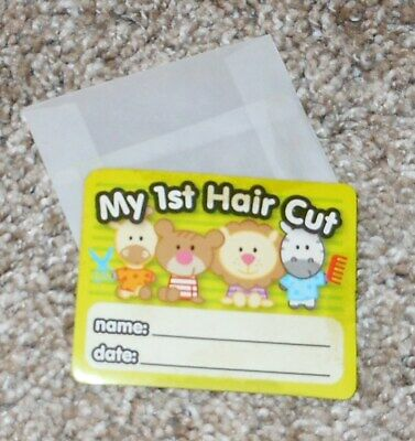 """""""My First Haircut"""" Clipping Saver - Free Shipping"""
