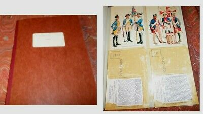 German Scrapbook,Newspaper Clipping,Postcards and Pictures. Military