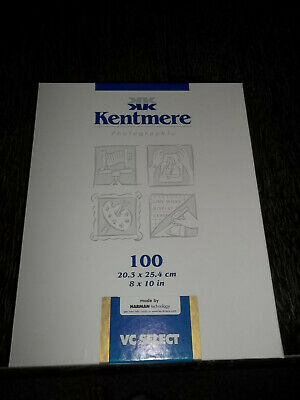 Kentmere 6007418 VC Select Paper  8x10 inch Sheets~49 count (partial box)