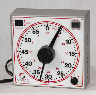 GraLab Model 171 60-Minute General Purpose Darkroom Timer EX