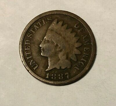 1887 Indian Head One Cent