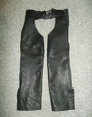 Leather Chaps SIZE SMALL~PNC~MADE IN U.S.A.