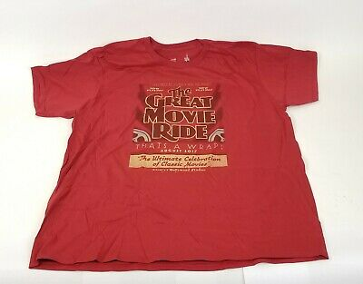 Disney Parks The Great Movie Ride XXL Thats A Wrap T-Shirt 2XL Hollywood Studios