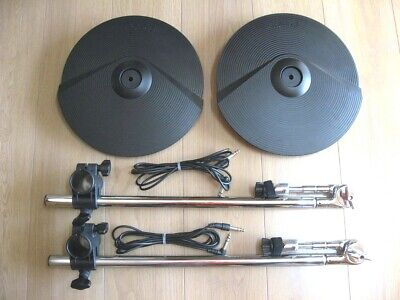 Roland V-Drums CY-8 Dual Trigger Cymbal w/ Arm, Clamp and Cable 2 Set
