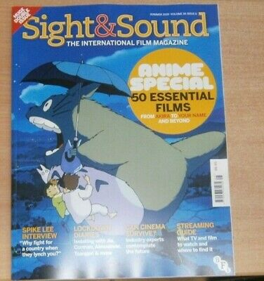 Sight & Sound magazine Summer 2020 Anime Special: 50 Essential films + Spike Lee