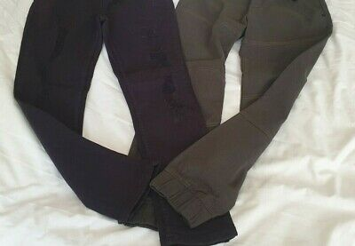 Boys Bundle 2 pairs Jeans  Age 9/10 years.SKINNY RIPPED RIVER ISLAND & F&F. BNWT