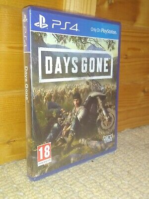 Days Gone PS4 - PERFECT CONDITION - NEWLY SEALED -