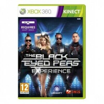 Kinect The Black Eyed Peas Experience Game XBOX 360