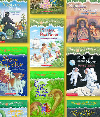 Magic Tree House collection Books Box Set 1-55 by Mary Pope Osbourne New Edition
