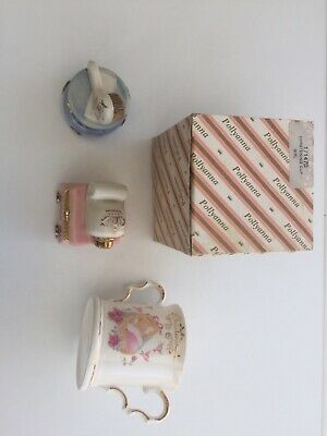Vintage Babies First Set And Christening Cup