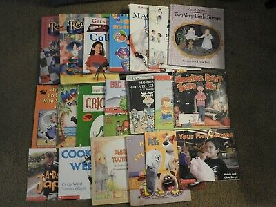 B4) Big Lot of 45 Random Children's Kids Books Picture Books