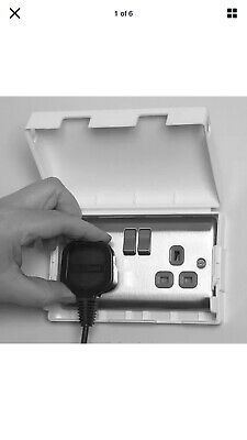 Double Safety Lockable Socket Cover.. Baby Safety Etc.. 2 Lots...
