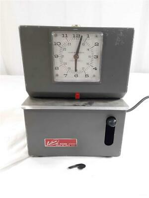 Lathem 2i05 Industrial Time Clock Punch Card Recorder